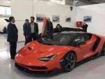 First Lamborghini Centenario delivered to customer in the United Arab Emirates - Image via Autoforum