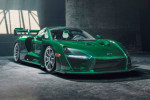 First McLaren Senna lands in US with custom MSO Emerald Green exterior