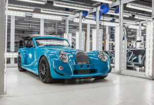First Morgan Aero GT rolls off of the production line
