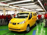 "First Nissan NV200 New York ""Taxi of Tomorrow"" rolls off the line in Mexico"