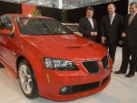 First Pontiac G8 prototypes completed