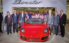 First Porsche Boxster Rolls Off The Line At Former Karmann Plant