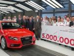 Five-millionth Audi A5 is built