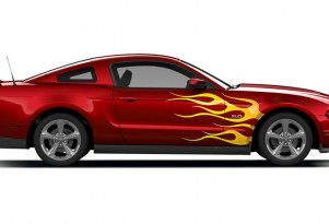 Let the Customizing begin, Ford now offering custom vinyl graphics for Mustang