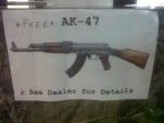 Florida truck dealership offering free AK-47 to buyers
