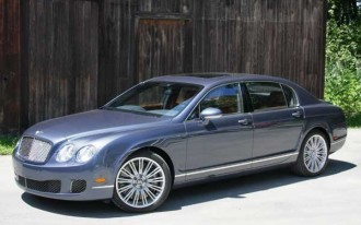Driving Bentley's 200-mph Flying Spur Speed