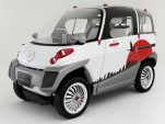 Electric-Car Concept From Japan Floats Like A Boat In Emergencies
