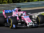 Force India Formula 1 team during 2018 summer test in Hungary