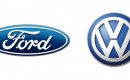 Ford and Volkswagen logos