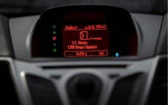 2011 Ford Fiesta Owners First To Get SYNC AppLink