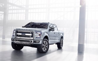 Ford F-150 Atlas Concept: A Transit Pickup Truck Stays In Step In Detroit