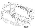 Ford autonomous vehicle patent drawing