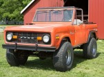 Ford Bronco ready for restoration.