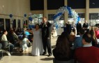 Mustang Owners Tie the Knot--In a Ford Showroom