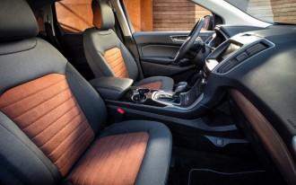 Ford taking cloth upholstery upmarket with new package for Edge