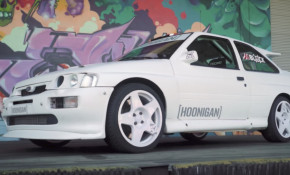Ken Block's 1991 Ford Escort Cosworth Group A rally car