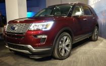2018 Ford Explorer, 2017 New York auto show