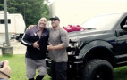The Rock gifts custom Ford F-150 to his longtime stunt double