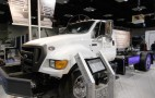 Ford F-750 Plug-In Hybrid Work Truck: Not Your Little Leaf, Sonny
