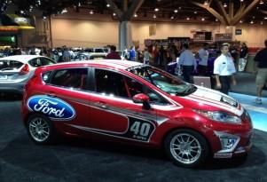 Ford Fiesta B-Spec race car at SEMA 2011