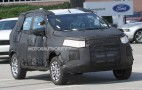 2014 Ford Fiesta-Based Crossover Spy Shots