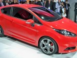 Ford Fiesta ST Concept live photos