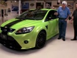 Ford Focus RS on Jay Leno's Garage