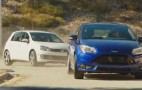 Focus ST Versus VW GTI: Ken Block & Vaughn Gittin, Jr. Race