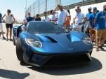 Ford GT concept at Spain's Circuito del Jarama - Image via Periodismo