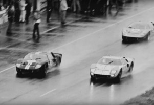 Ford GT40 1-2-3 finish at 1966 24 Hours of Le Mans