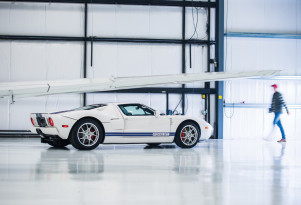 2006 Ford GT with 10.8 miles on its odometer - Image via RM Auctions