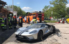 2017 Ford GT catches fire in Germany