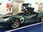 Jason Watt's Ford GT with wheelchair mount