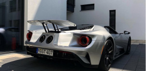 Replacement Ford GT for owner of burned car Photo: muc.collector
