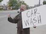 Ford Halloween car wash prank screencap