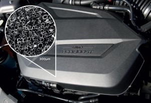 Ford MuCell gas-injected plastics