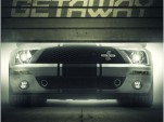 Ford Mustang Shelby GT500 on poster for 'Getaway'