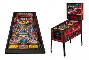 Ford Mustang-themed pinball games from Stern Pinball.