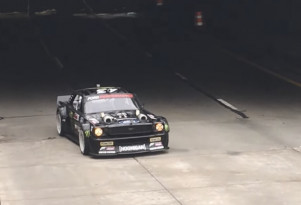Ken Block spotted filming in Detroit, Michigan