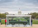 original Ford Mustang Bullitt, on the National Mall in Washington, D.C. | HVA photo
