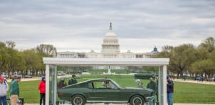 original Ford Mustang Bullitt, on the National Mall in Washington, D.C. | HVA photo