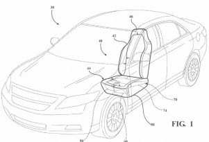 Ford patents active thigh support