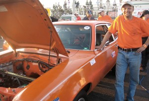 NPR Rides In An Electric Ford Pinto Dragster