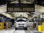 Ford\'s 100,000th hybrid rolls off the Kansas City assembly line in March 2009