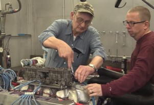 Ford V-12 Le Mans racing engine that never was but should have been