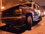 Ford Explorer Fire