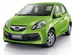 Production-spec Honda Brio minicar