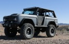 Classic Ford Bronco pays homage to Eleanor Mustang