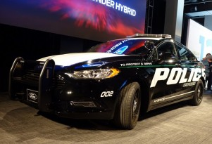 2018 Ford Police Responder Hybrid Sedan pursuit-rated police car