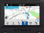 Waze running on Ford vehicle with SYNC 3